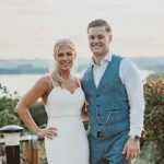Charlotte and Lewis at Barnsdale Hall Hotel.